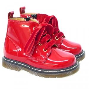 cuidar-tus-zapatos-en-invierno-bota-cremallera-clarys-1415-rojo