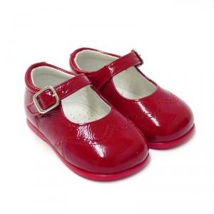 zapatos-merceditas-primeros-pasos-hebilla-charol-rojo