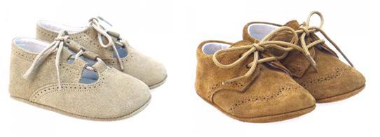 Zapatos bebé badanas para vestir