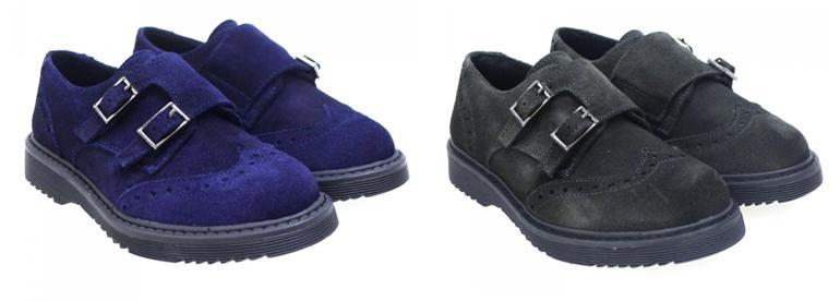 Zapatos de colegio bluchers Clarys