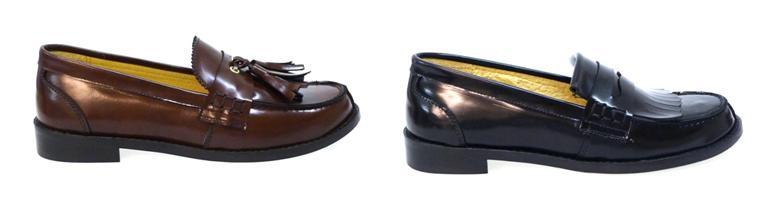Zapatos de colegio mocasines Clarys