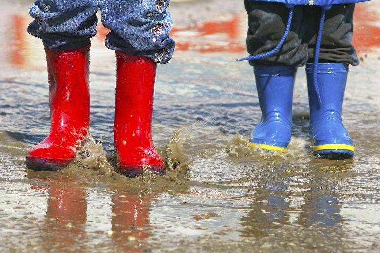 Cuidar los zapatos infantiles