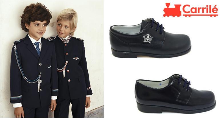 Zapatos de niño de comunión de marinero
