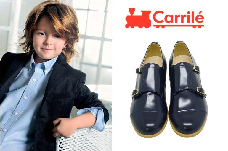 Zapatos de niño de comunión hebillas Clarys