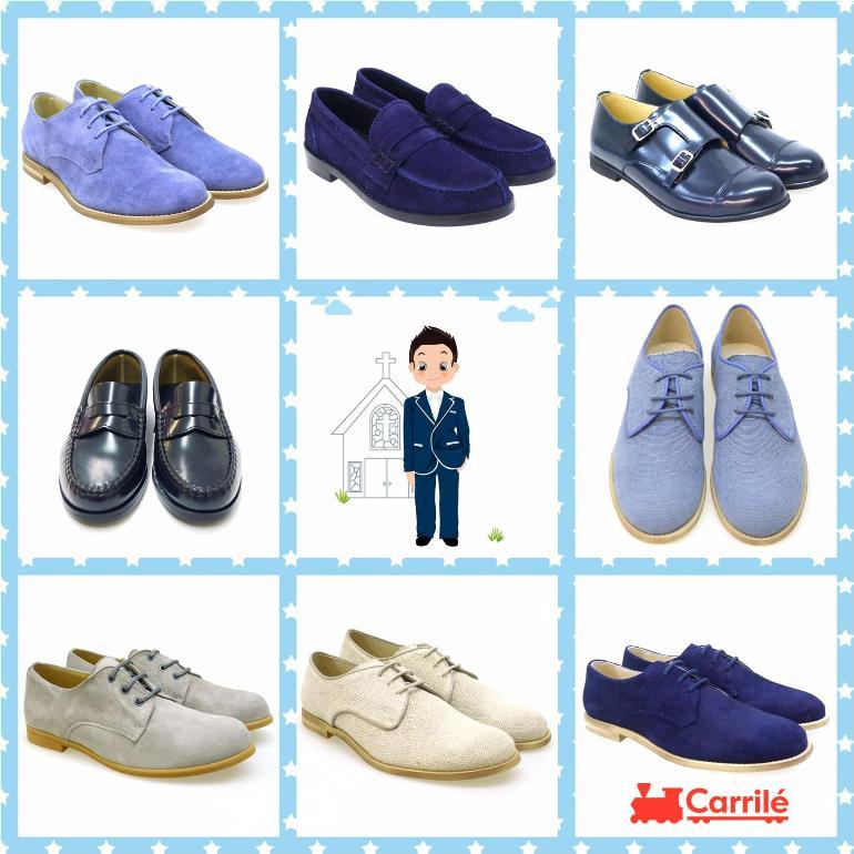 Zapatos de niño de comunión