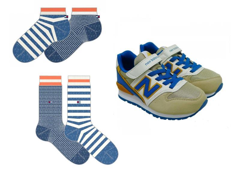 Calcetines para niño para zapatillas Tommy Hilfiger