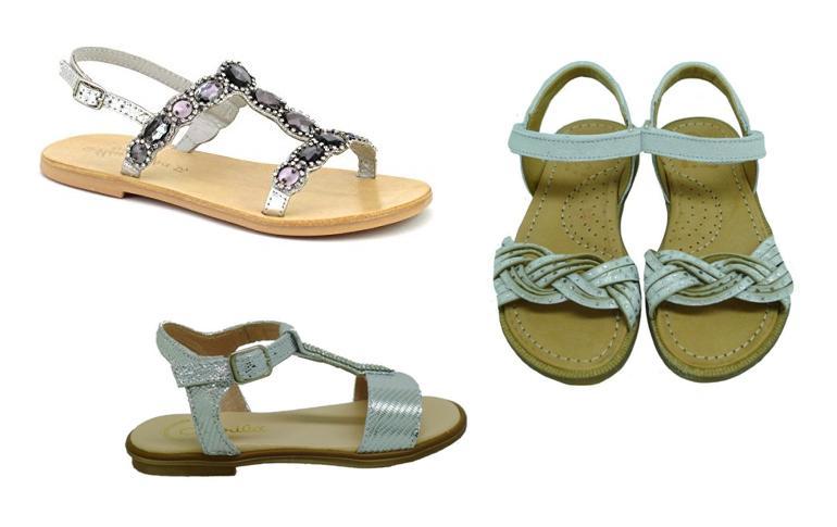 Sandalias de niña online vestir