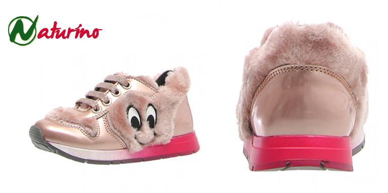 Botas de pelo para niños sneakers Naturino