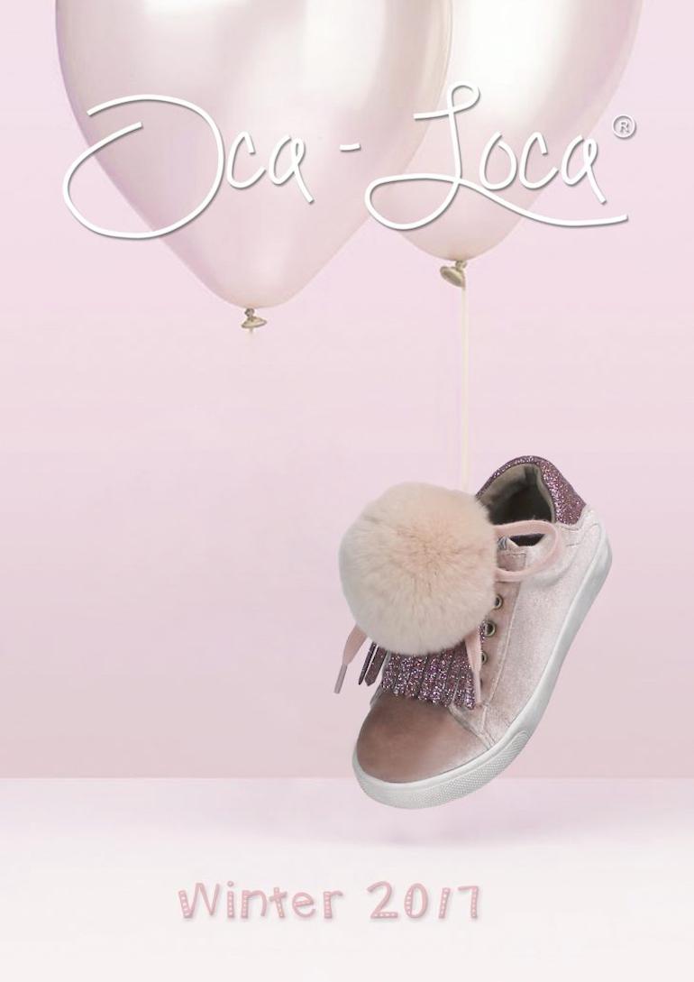 Botas de pelo para niños sneakers Oca Loca