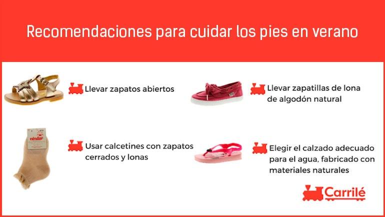 Recomendaciones para cuidar los pies en verano