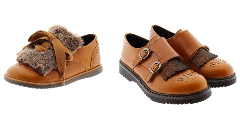 Tendencias en calzado infantil bluchers Clarys