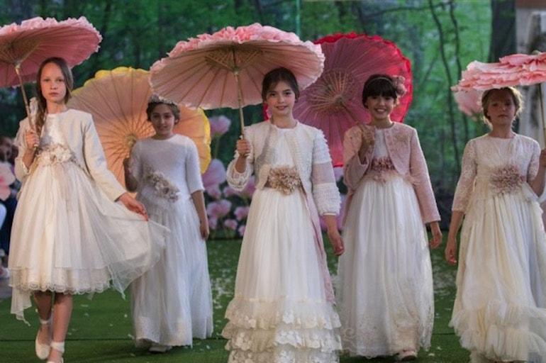 Vestidos y trajes de comunión 2019 Fimi