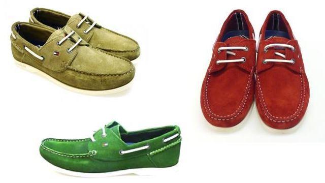 zapatos dockside para caballero