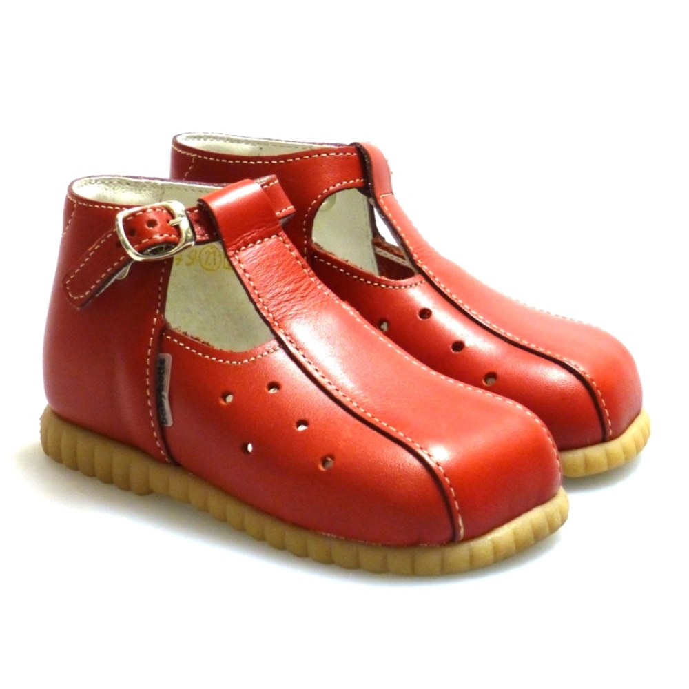 Bota sandalia niño rojo Outlet