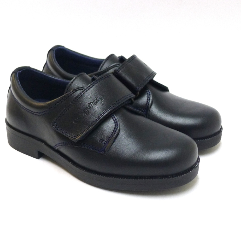 Zapato De Colegio Con Velcro De Conguitos
