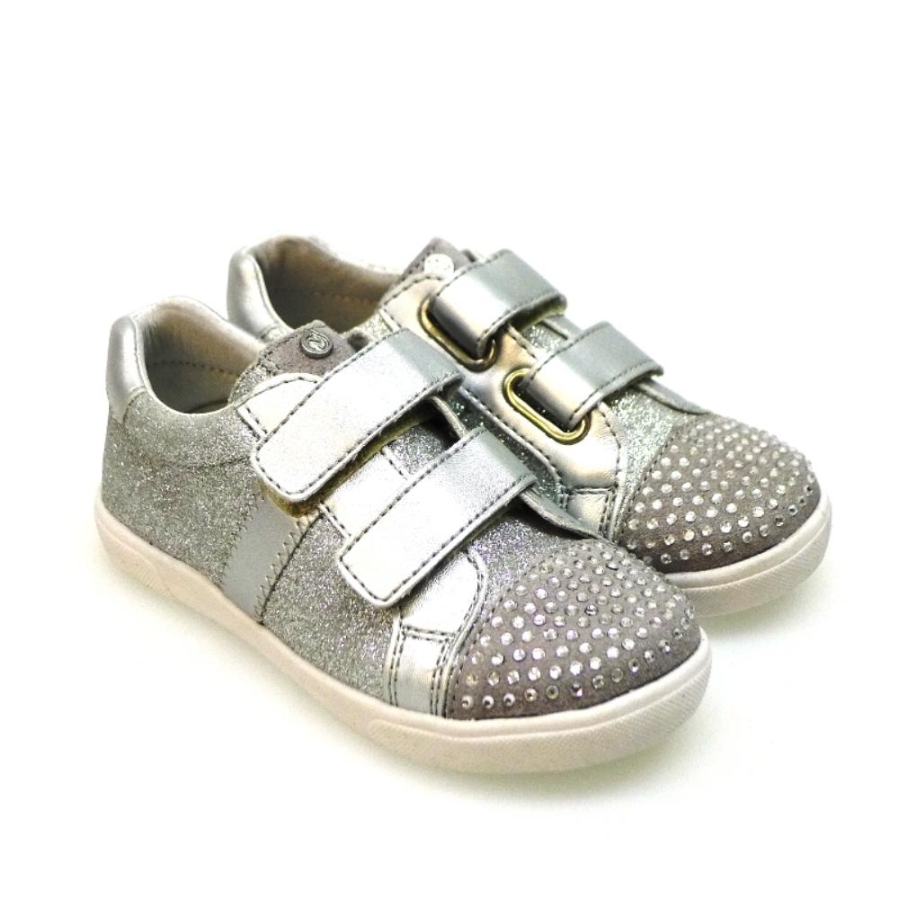 Zapato Deportivo Niña Con Velcro De Naturino 4593