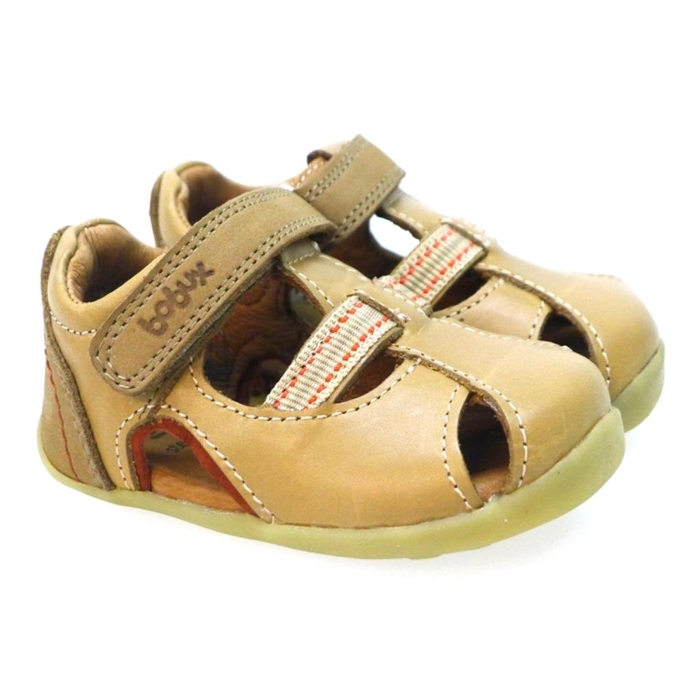 Zapato Sandalia Velcro Primeros Pasos Bobux 722701 Cuero