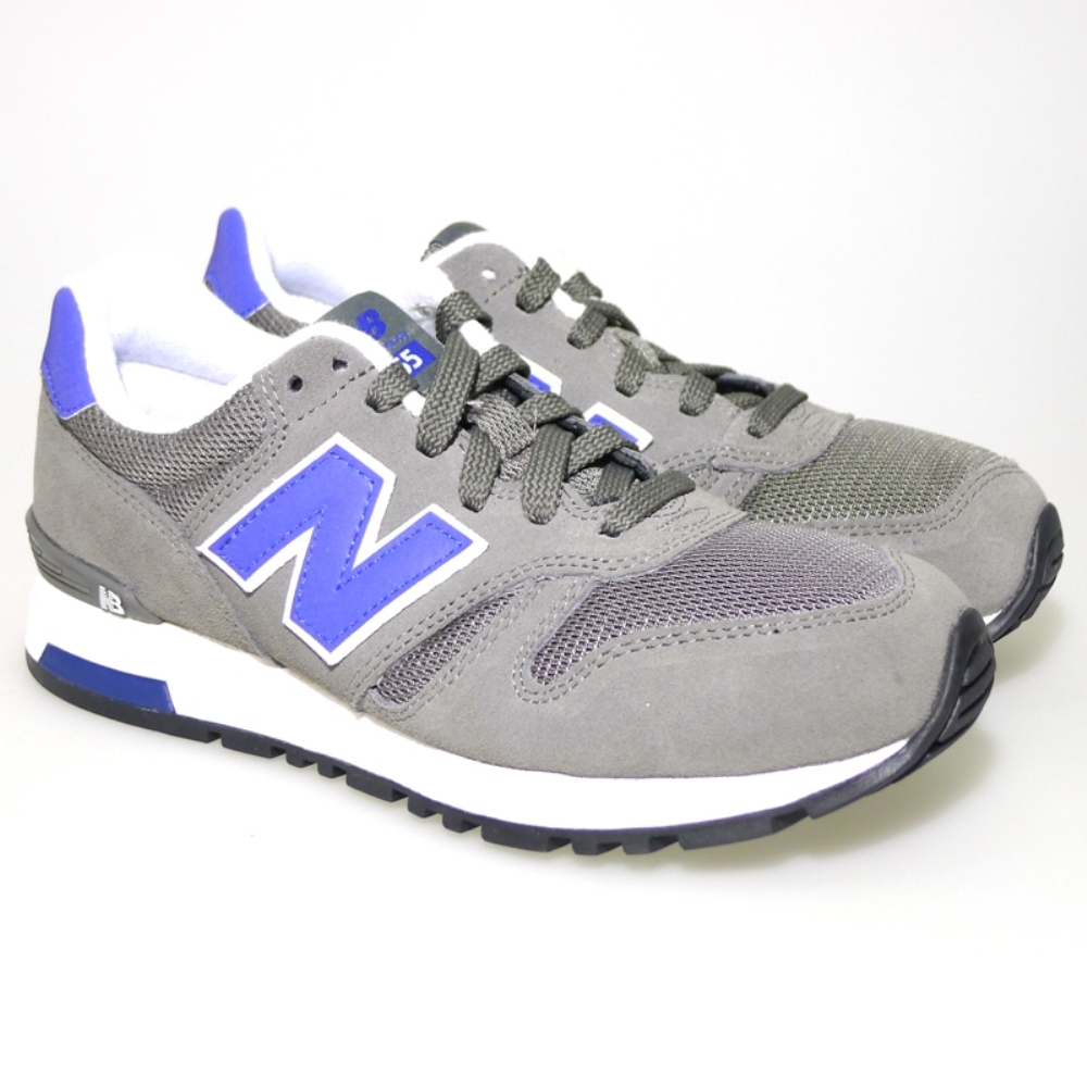 Zapato Deportivo Cordon New Balance Ml5655mg Gris