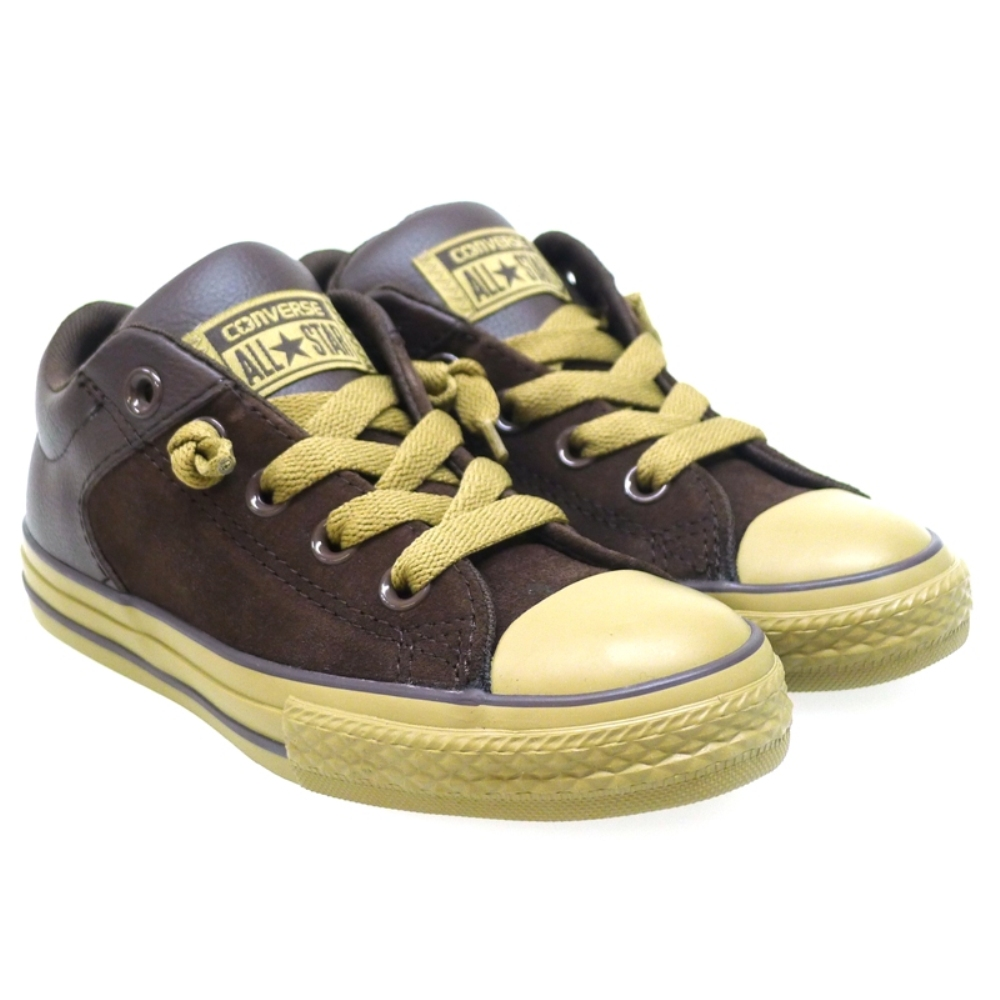 Zapatilla niño Converse Ct High Street Burn Umber Marrón