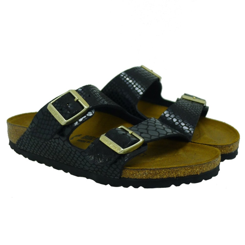 Ugly shoes serpiente hebillas Birkenstock Arizona