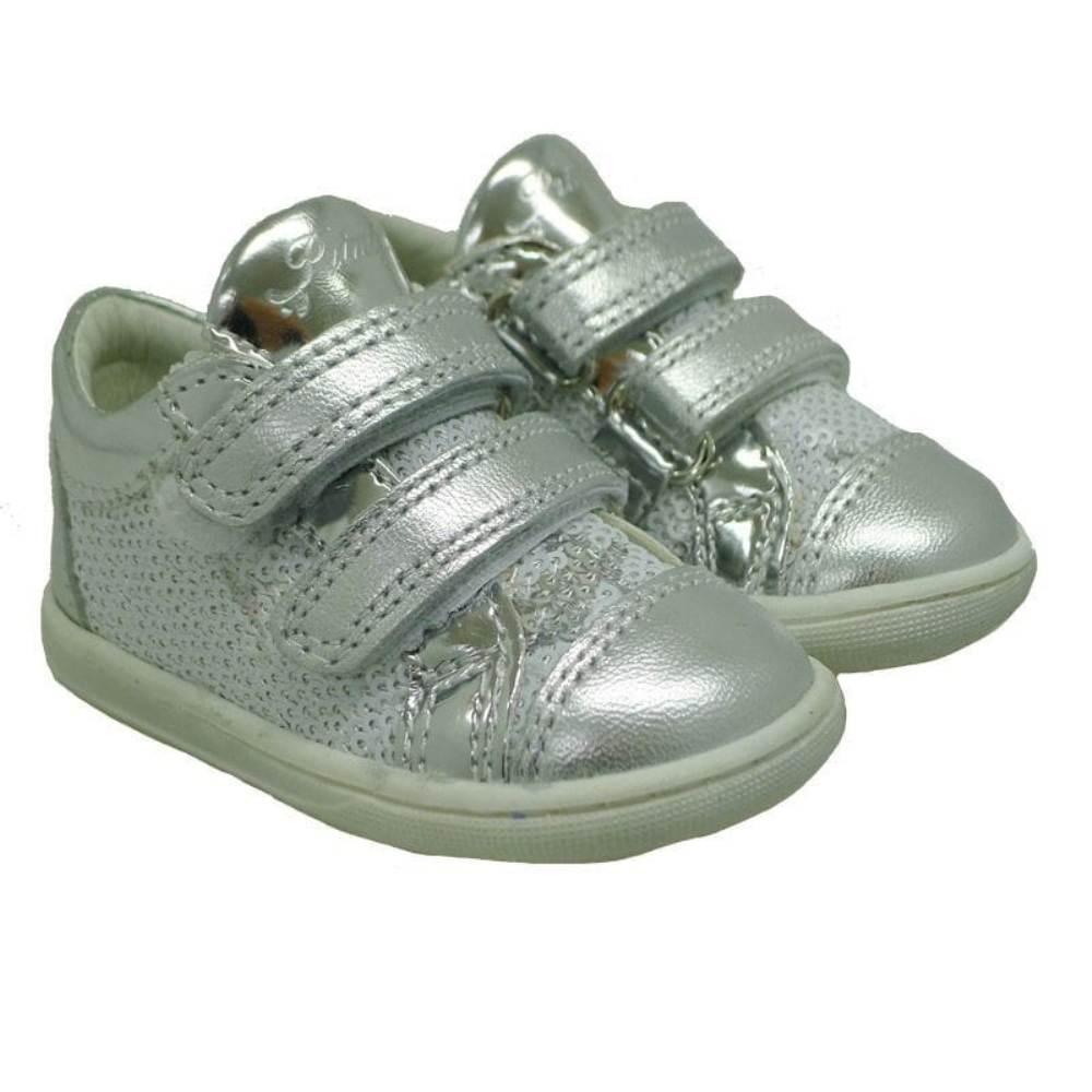 Zapatillas lentejuelas bebé Primigi PBX7029 Plata