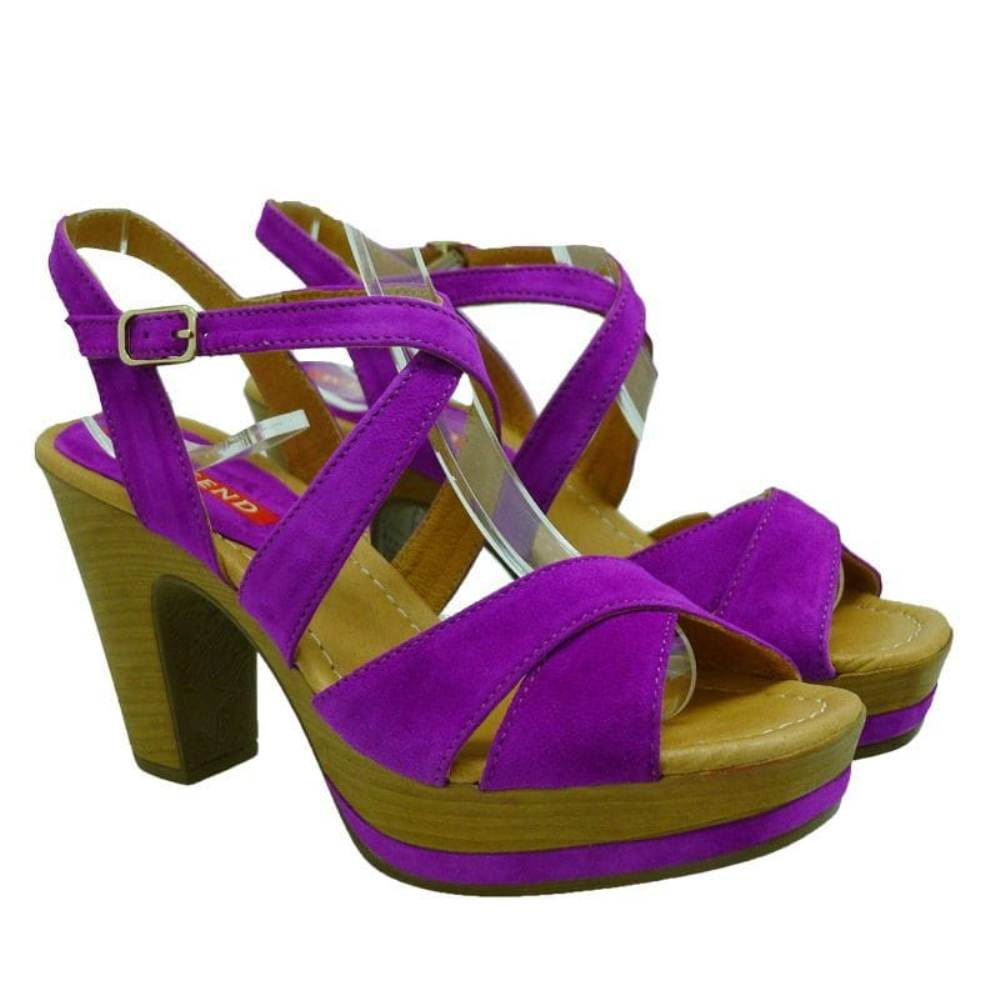 Weekend Pedro Miralles sandalia de vestir violeta 17462