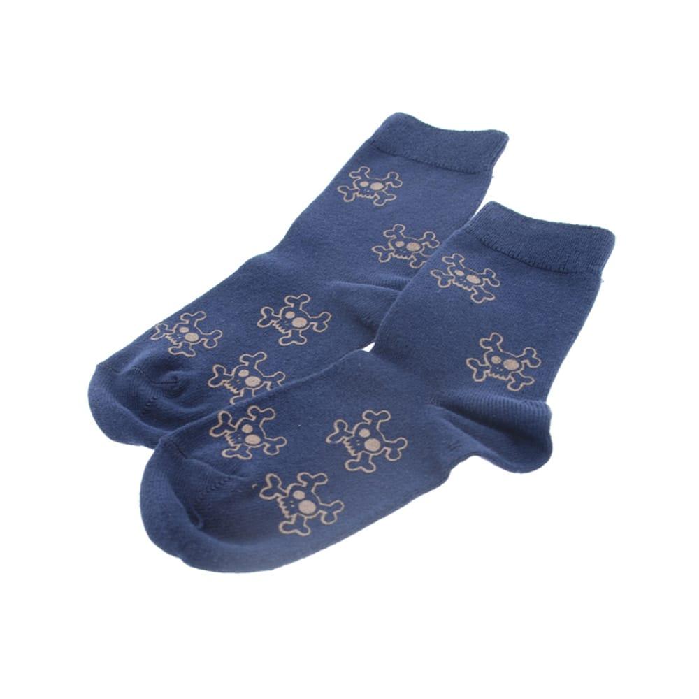 Calcetines algodón calaveras Condor 2803/4.480 Azul