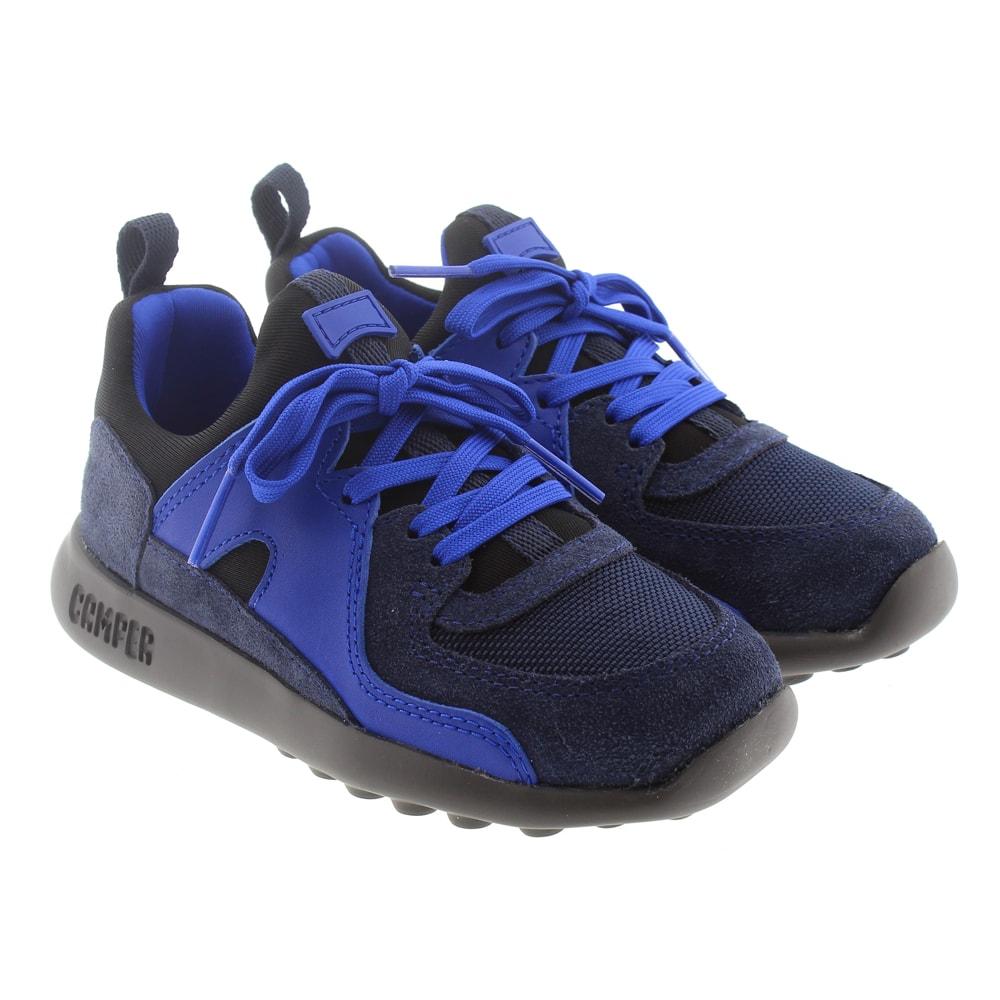 Zapatilla sport niño elásticos Camper K800222-0001 Azul