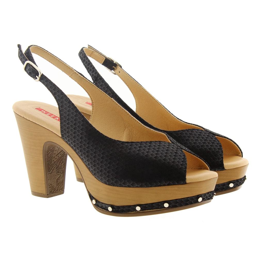 Zapato tacón y plataforma Pedro Miralles 11282