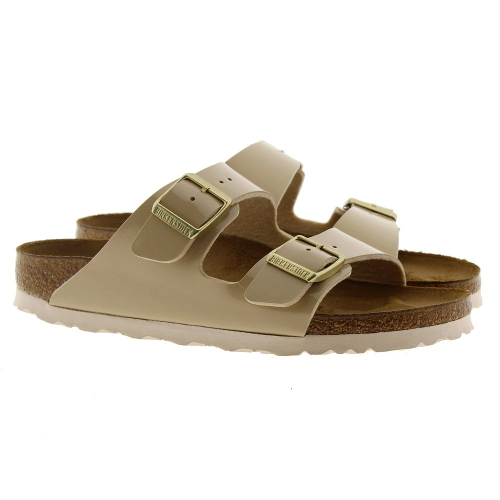 Sandalia ugly shoes charol Birkenstock Arizona