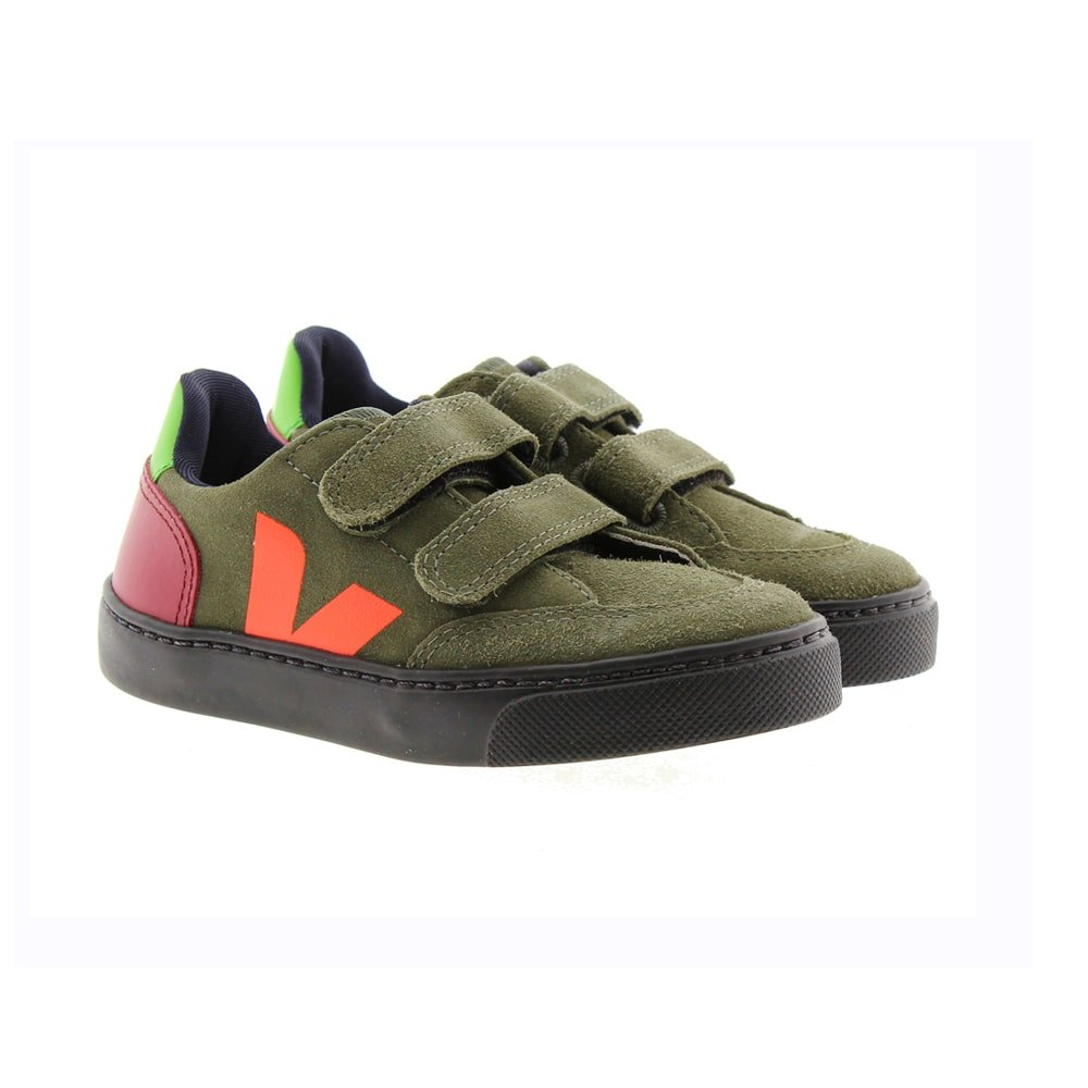 Zapatillas casual niño ecológicas Veja Small V12 V