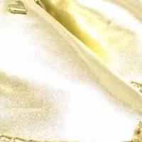 Alpargatas metalizadas