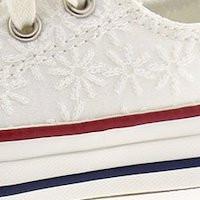 Zapatillas bordadas de converse