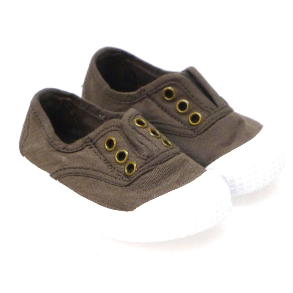 Zapatillas de algodón con puntera Victoria 106627