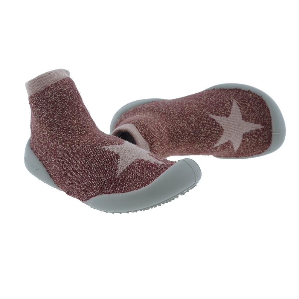 Calcetines algodón brillante adorno estrella Collegien 111-C
