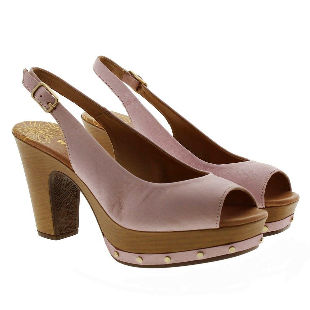 Zapatos destalonados tacón madera Pedro Miralles 16276