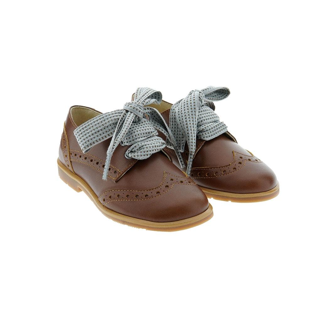 Zapato cordón picado niña Carrile 212581