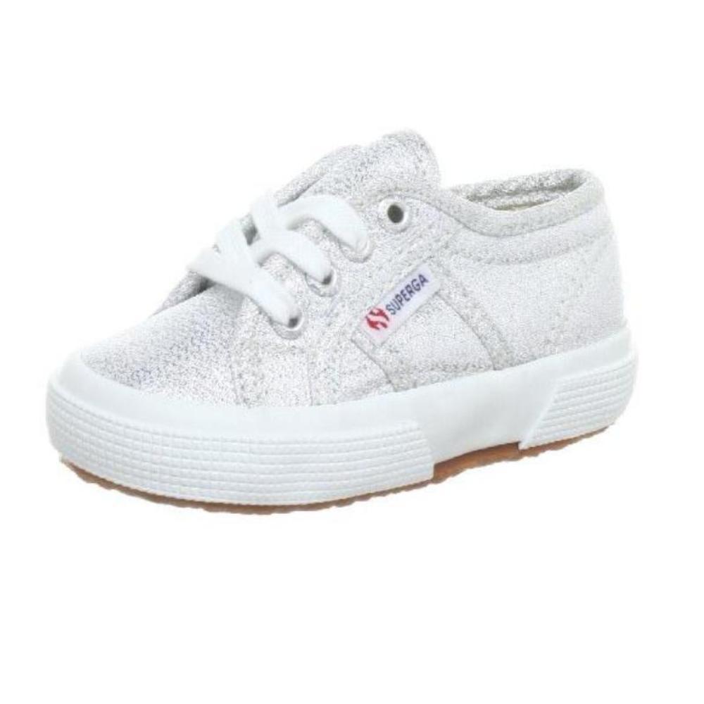 Zapatillas cordón metalizadas niña Superga 2750-Lamej