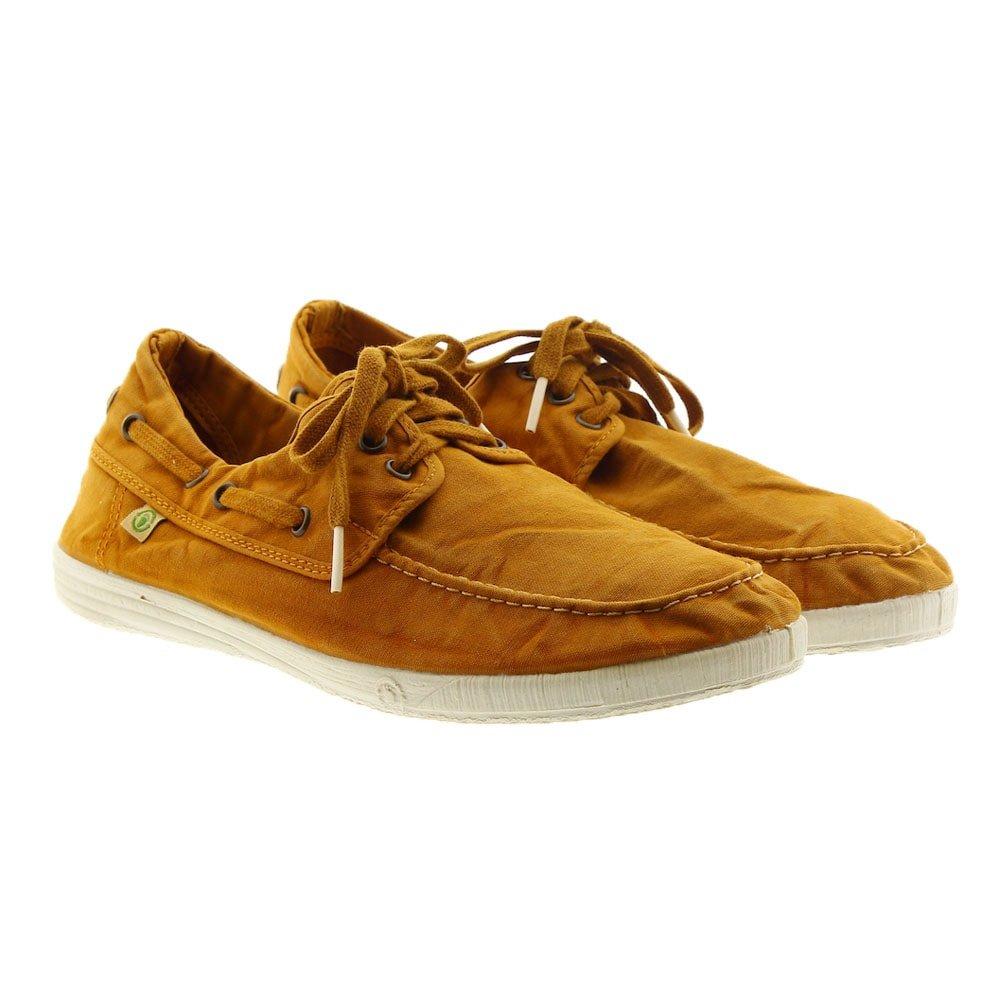 Zapatillas algodón cordón adulto Natural World 303E