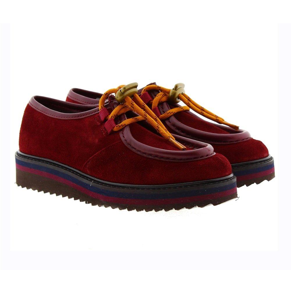 Zapato blucher piel cordón Clarys 3737