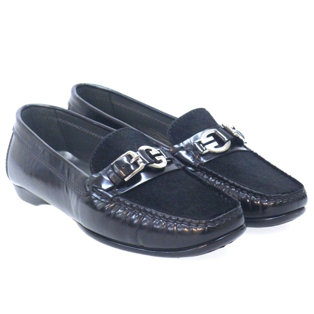 Mocasines charol y pony Triver 409-01 Outlet