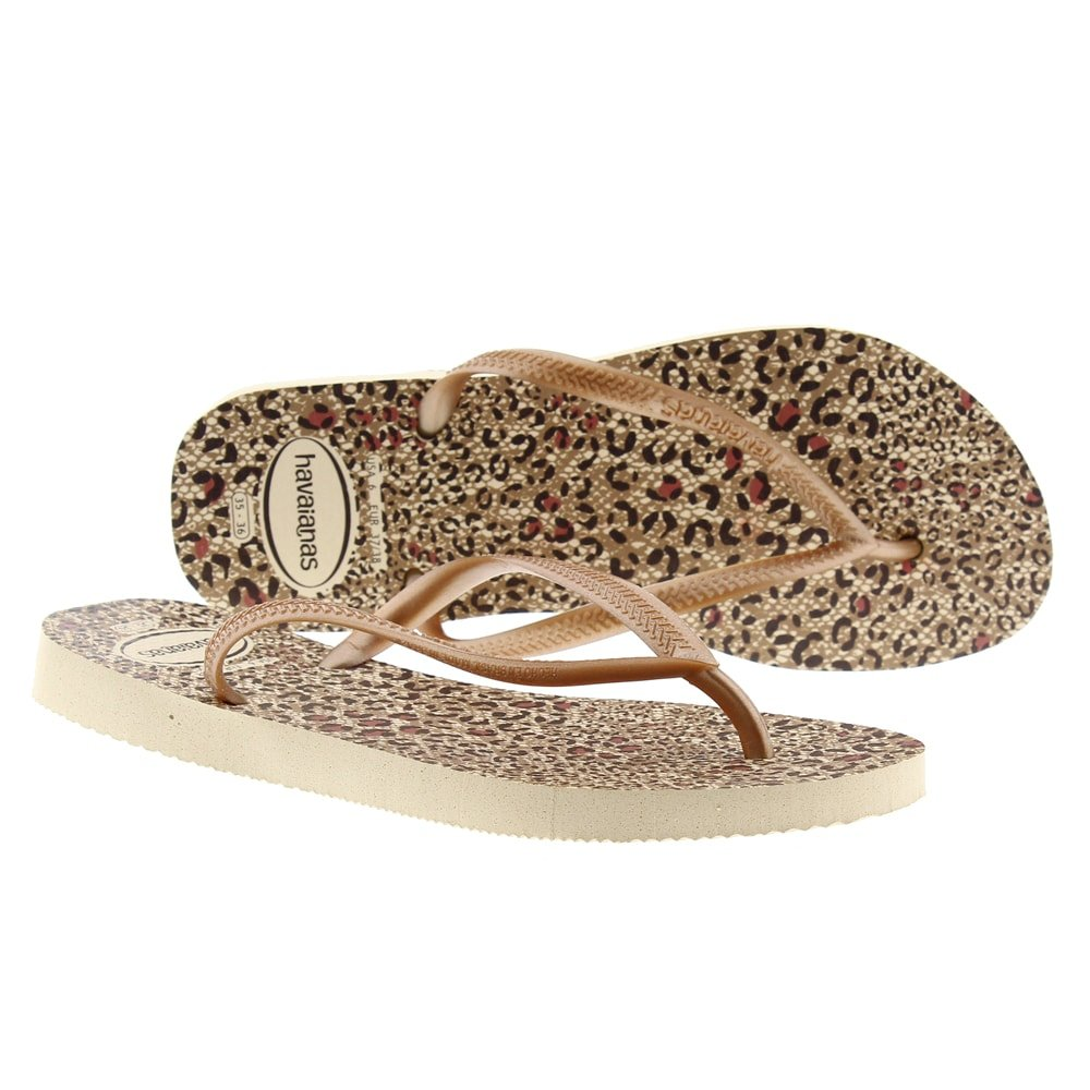 Chanclas dedo agua animal print Havaianas 4103352 Slim Animals