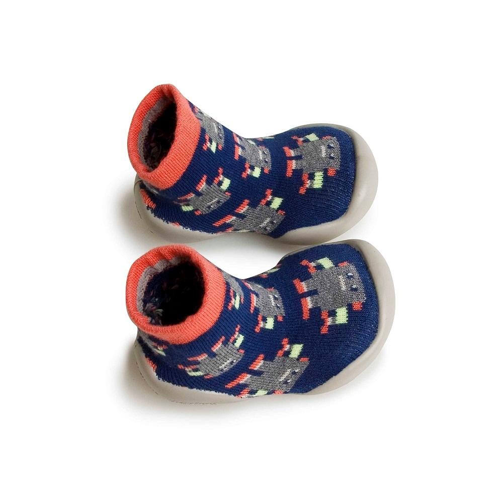 Zapatillas casa robots niño Collegien 553D