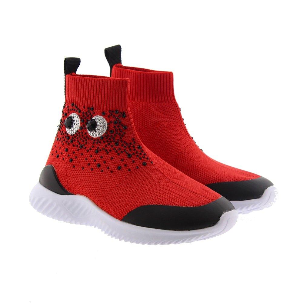 Botines calcetín ojos Oca Loca 8202