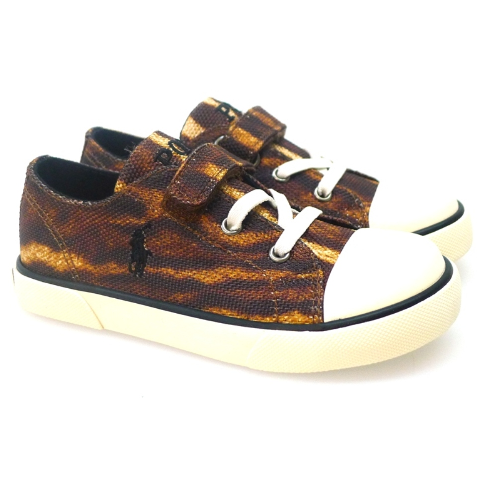 Sneakers niña print animal Polo Ralph Lauren Carson Ez