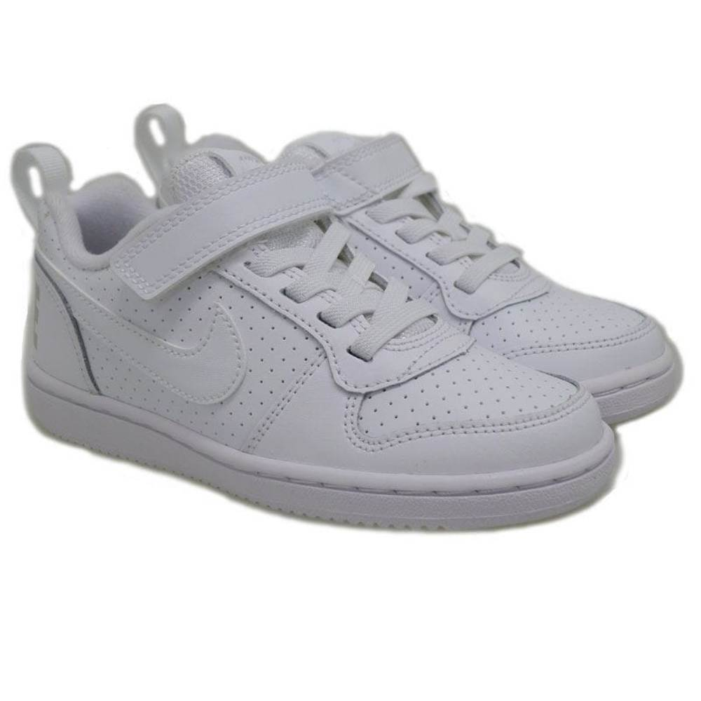 Deportivas ni?os velcro Nike Court Borough