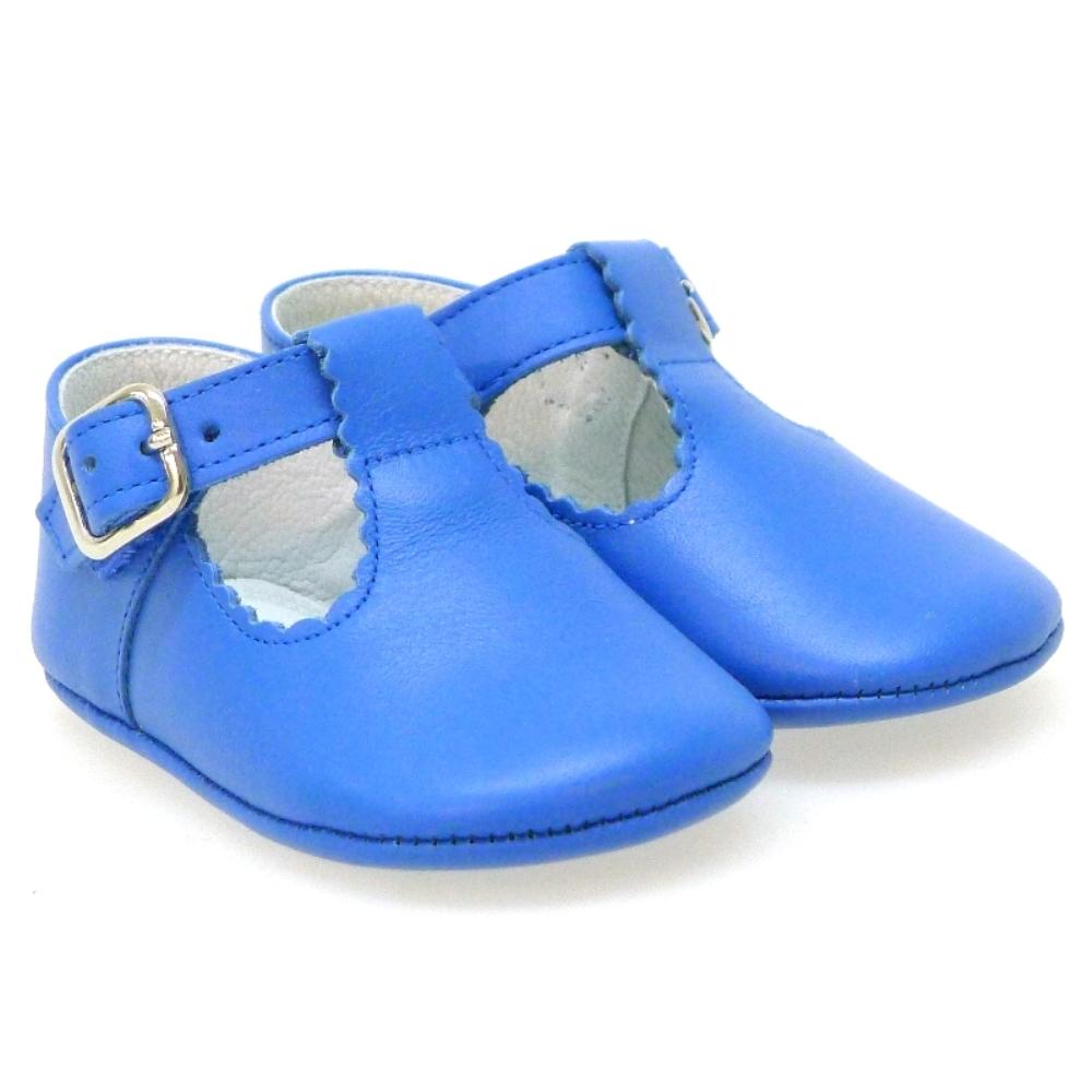 Zapato sandalia sin piso piel hebilla Carrile