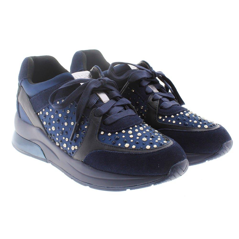 Sneakers suela ancha y strass Liu Jo Karlie 05