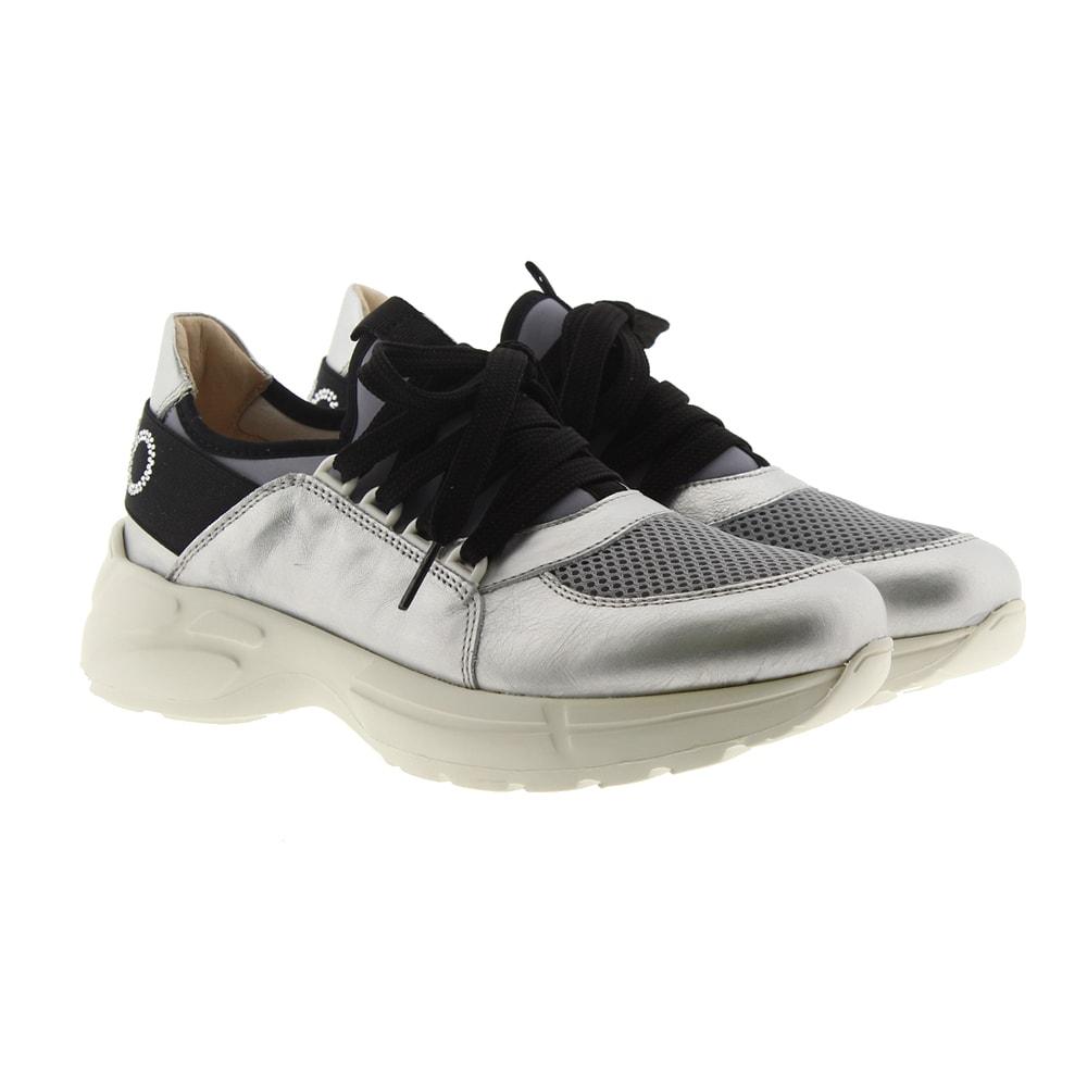 Sneakers metalizadas mujer Liu Jo L4A4-20350