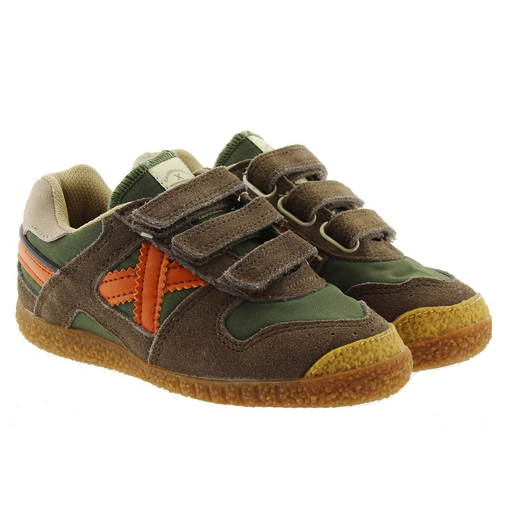 Zapatillas casual niño Munich Mini Goal